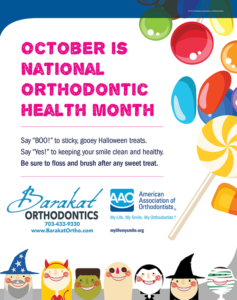 National Orthodontic Health Month Comes to Barakat Orthodontics